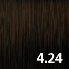 4.24 Коричневый средний брюнет шоколадный