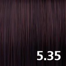 5.35 Светлый брюнет золотисто-махагоновый