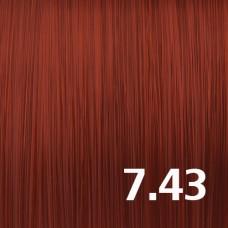 7.43 Русый медно-золотистый